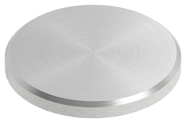 Ronde Ø 40x4 mm mit Rundschliff + Fase V2A