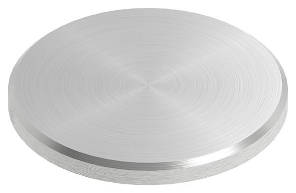 Ronde Ø 48x4 mm mit Rundschliff + Fase V2A