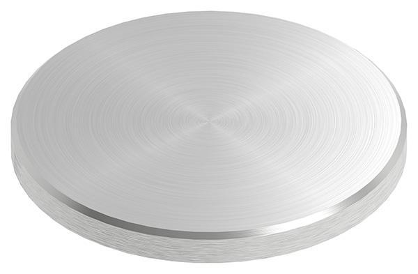 Ronde Ø 70x6 mm mit Rundschliff + Fase V2A
