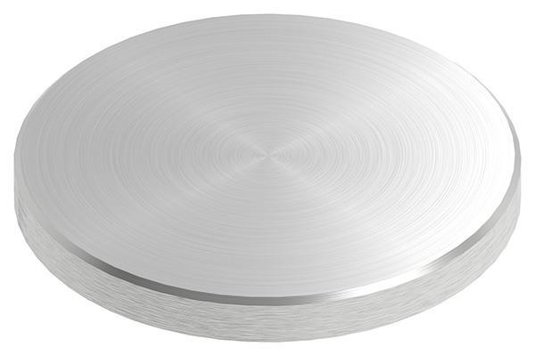 Ronde Ø 80x8 mm mit Rundschliff + Fase V2A