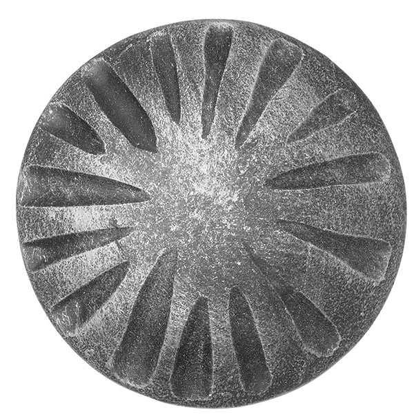 Rosette / Zierteil    Ø 100x6 mm Stahl roh   Stahl (Roh) S235JR