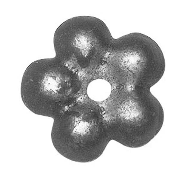 Rosette / Zierteil    Ø 32x1 mm   Stahl (Roh) S235JR