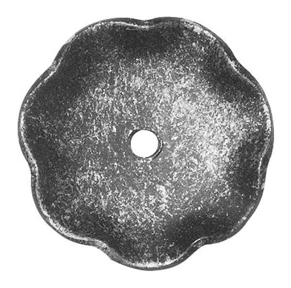 Rosette / Zierteil    Ø 50x2 mm   Stahl (Roh) S235JR