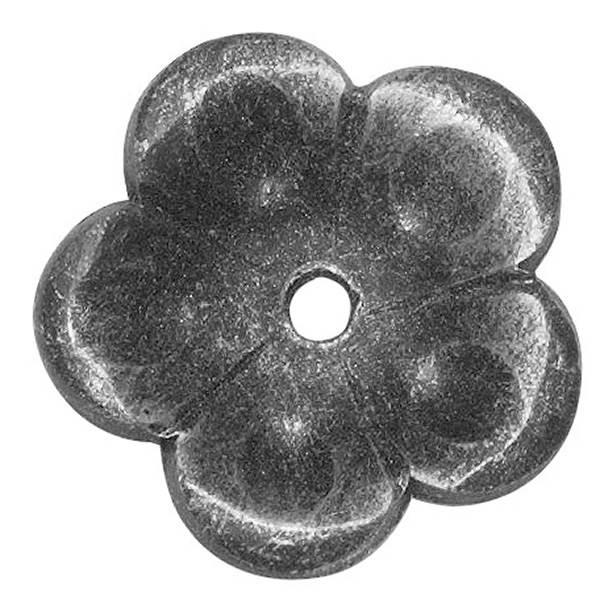 Rosette / Zierteil |  Ø 53x3 mm | Stahl (Roh) S235JR