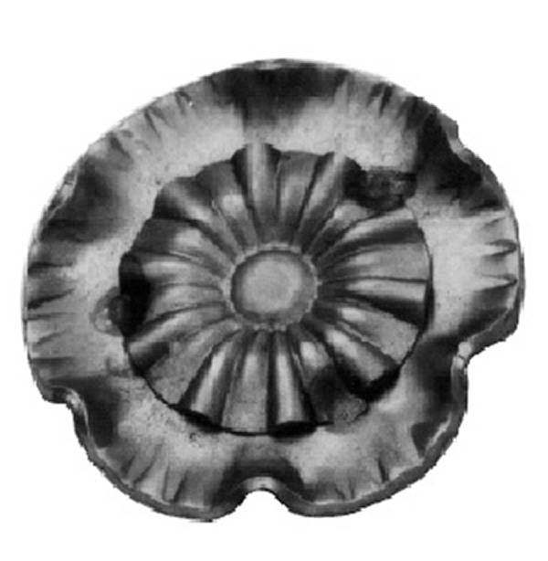 Rosette / Zierteil |  Ø 60x2 mm | Stahl (Roh) S235JR
