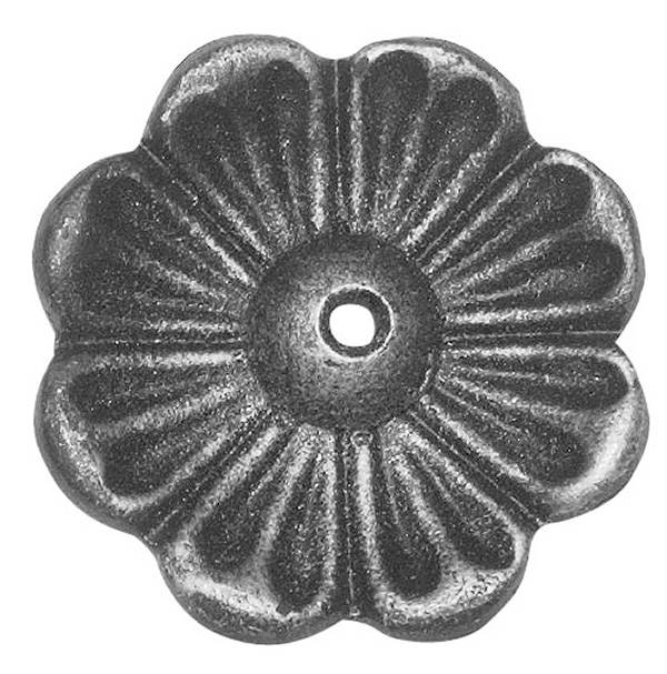 Rosette / Zierteil |  Ø 65x4 mm  | Stahl (Roh) S235JR