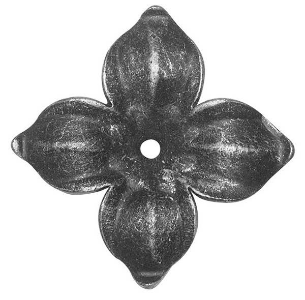 Rosette / Zierteil |  Ø 75x2 mm | Stahl (Roh) S235JR