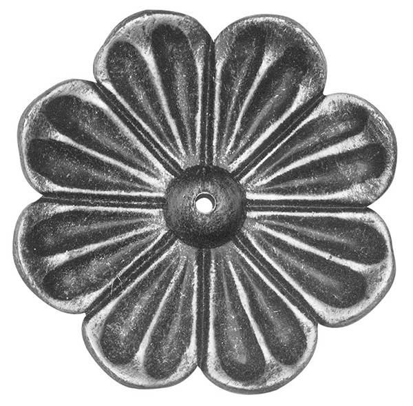 Rosette / Zierteil | Ø 95x4 mm | Stahl (Roh) S235JR