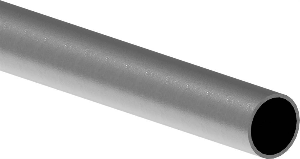 Rundrohr | Ø 33,7x2,5 mm | Länge: 6000 mm | Stahl S235JR, roh