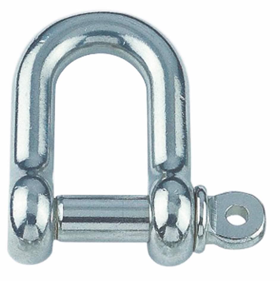 Rundschäkel | Für Seil 3 mm - 25 mm | V4A