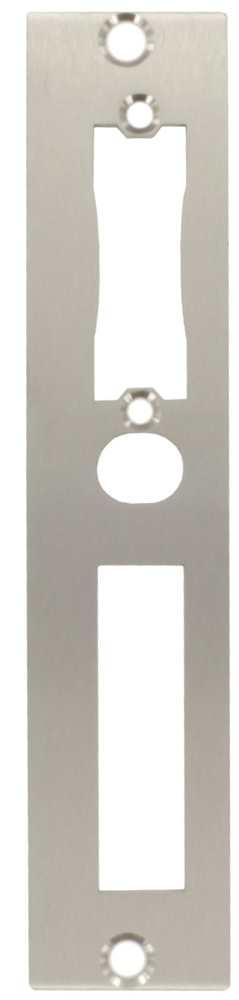Schließblech | Kastenbreite: 50 mm | Stahl (verzinkt) S235JR