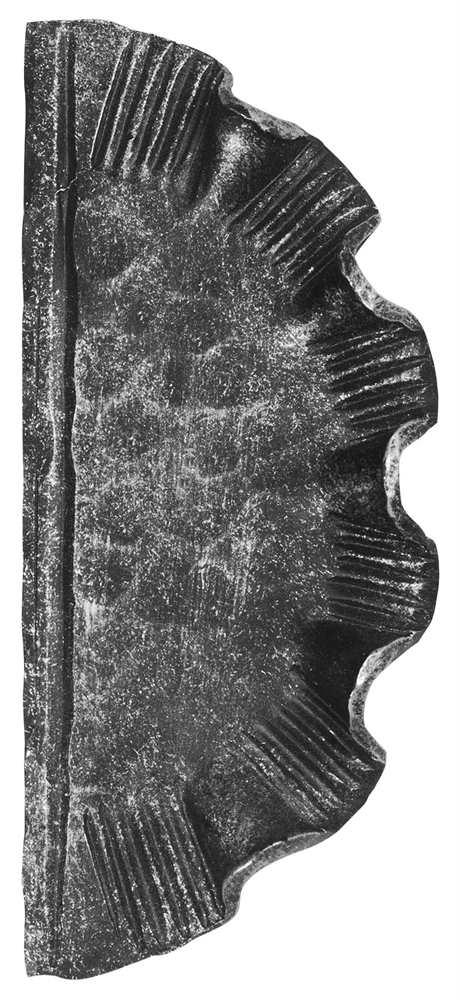 Schlossplatte rechts | Maße: 110x260x4 mm | ungelocht | Stahl S235JR, roh