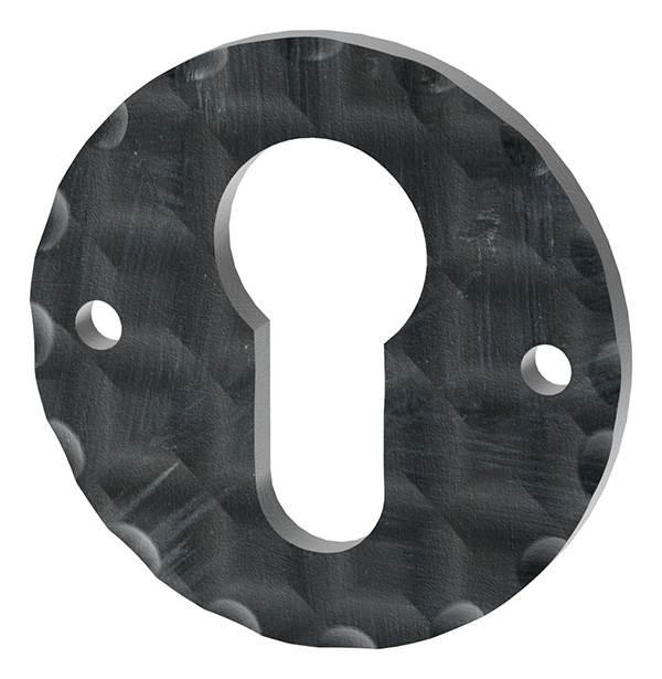 Schlüsselrosette   Maße: Ø 50 mm   Stahl (Roh) S235JR
