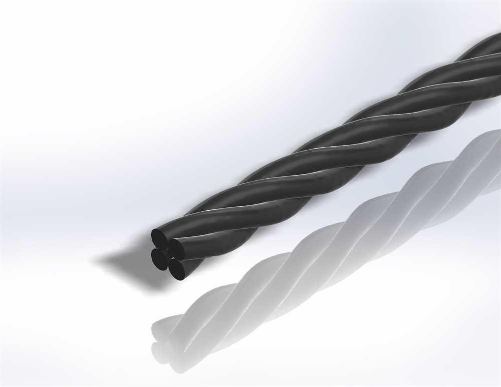 Gereeperter Handlauf   Material: Ø 35 mm   Länge: 2700 mm   Stahl (Roh) S235JR