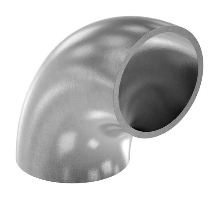 Schweißbogen | 90° | Ø 42,4x2,6 mm | Stahl S235JR, roh