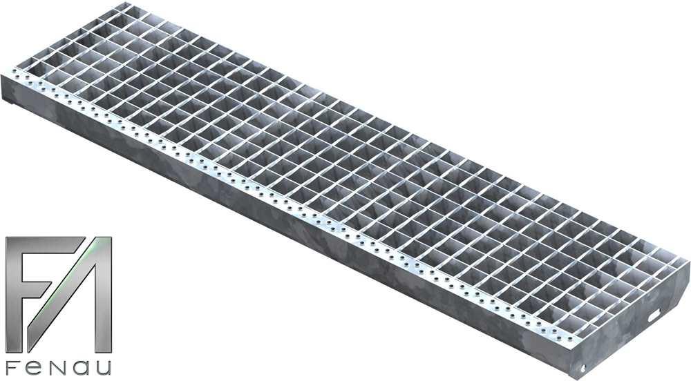 Schweißpress Gitterroststufe | Maße: 1200x305 mm 34/38 mm | S235JR (St37-2)
