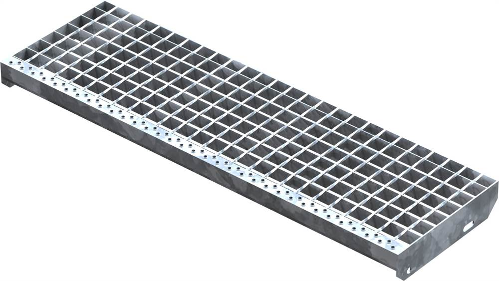 Schweißpress Gitterroststufe | Maße: 1000x305 mm 34/38 mm | S235JR (St37-2)