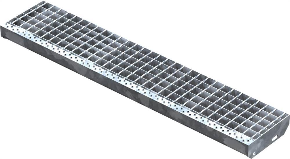 Schweißpress Gitterroststufe | Maße: 1200x240 mm 34/38 mm | S235JR (St37-2)