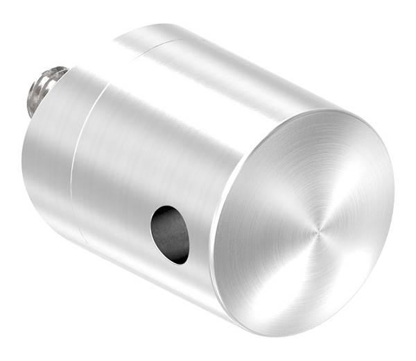 Seilhalter für Seile Ø 4 mm Anschluss Ø 42,4 mm V2A