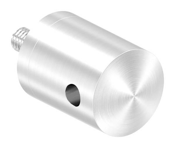 Seilhalter für Zwischenpfosten | Für Seil Ø 4 mm | Anschluss flach | V2A