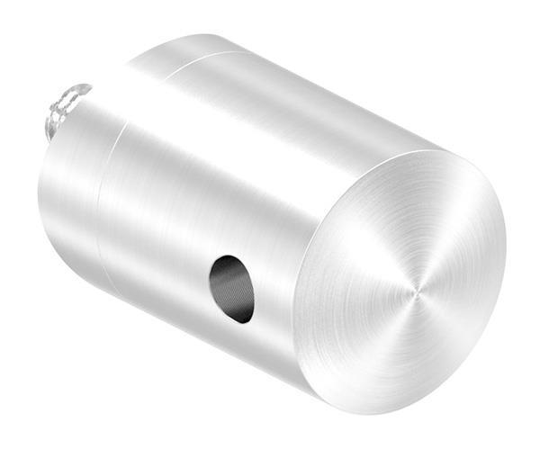 Seilhalter für Zwischenpfosten | Für Seil von Ø 4 mm bis Ø 6 mm | Anschluss Ø 42,4 mm | V2A