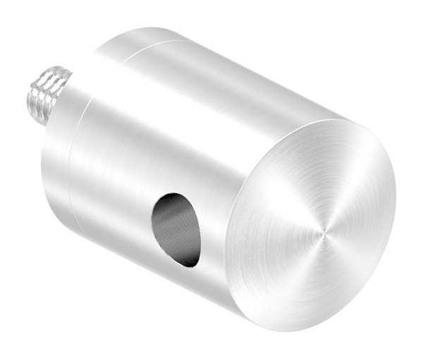 Seilhalter für Zwischenpfosten | Für Seil von Ø 4 mm bis Ø 6 mm | Anschluss flach | V2A