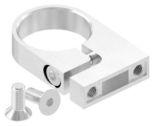 Spannring für Rundrohr 42,4 mm V2A | 35 mm