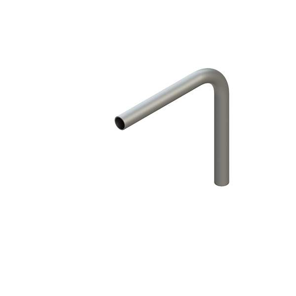 Stahl Rohrbogen | 90° | 42,4x2,5 mm | Stahl S235JR, roh