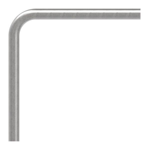 Stahl Rohrbogen | 90° | 26,9x2,0 mm | Stahl S235JR, roh