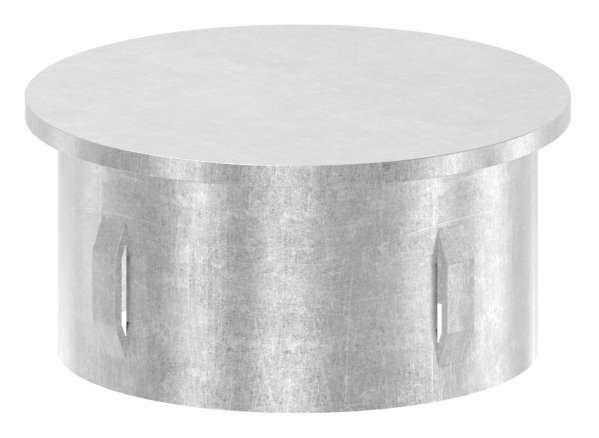 Stahlstopfen flach | für Rundrohr Ø 60,3x2,5-2,9 mm | Stahl S235JR, roh