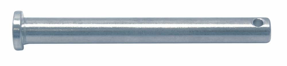Steckbolzen | mit Durchgangsbohrung: 8 mm | V4A