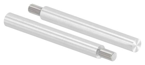 Stift | Maße: 100x12 mm | Gewinde: M8x15 mm | zum Anschweißen | V4A