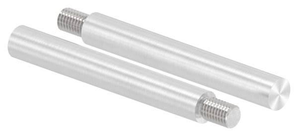 Stift | Maße: 100x14 mm | Gewinde: M10x15 mm | zum Anschweißen | V2A