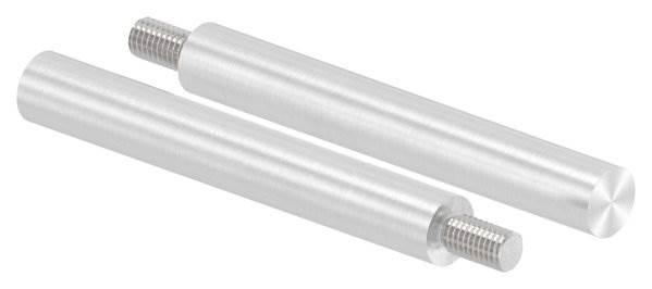 Stift | Maße: 100x14 mm | Gewinde: M8x15 mm | zum Anschweißen | V4A