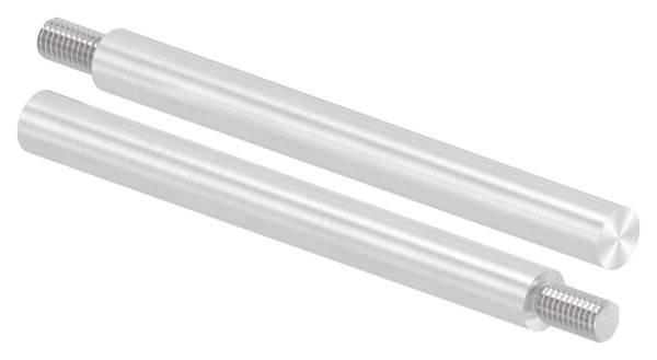 Stift | Maße: 120x12 mm | Gewinde: M8x15 mm | zum Anschweißen | V2A