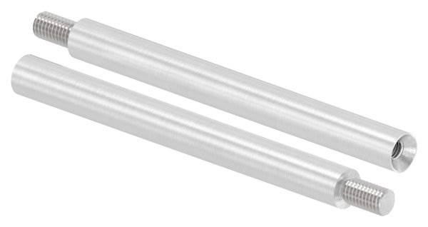 Stift | Maße: 120x12 mm | mit Außen - und Innengewinde | V2A