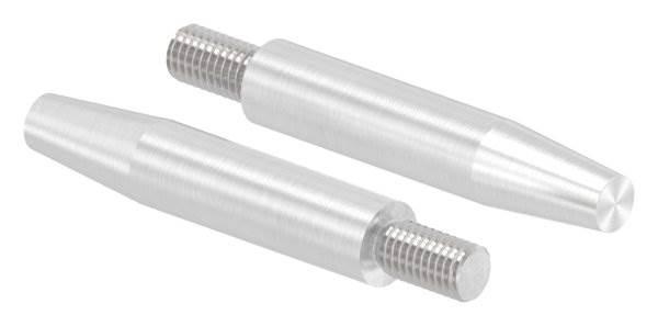 Stift | Maße: 60x12 mm | Gewinde: M8x15 mm | zum Anschweißen | V2A