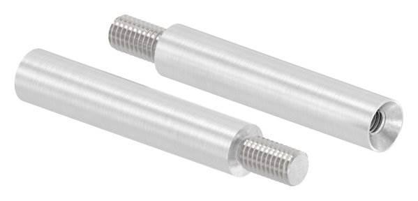 Stift | Maße: 60x12 mm | mit Außen - und Innengewinde | V2A