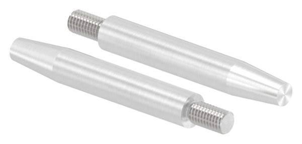 Stift | Maße: 75x12 mm | Gewinde: M8x15 mm | zum Anschweißen | V2A