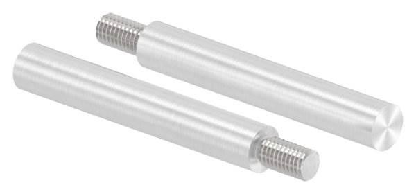 Stift | Maße: 75x12 mm | Gewinde: M8x15 mm | zum Anschweißen | V4A