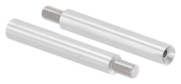 Stift | Maße: 75x12 mm | mit Außen - und Innengewinde | V2A