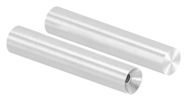 Stift | Maße: 75x14 mm | Innengewinde: M6x15 mm | zum Anschweißen | V2A