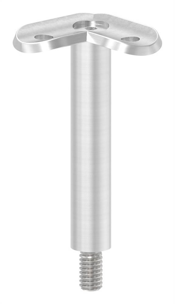 Stift mit Halteplatte 90° | Anschluss: Ø 42,4 mm | V2A