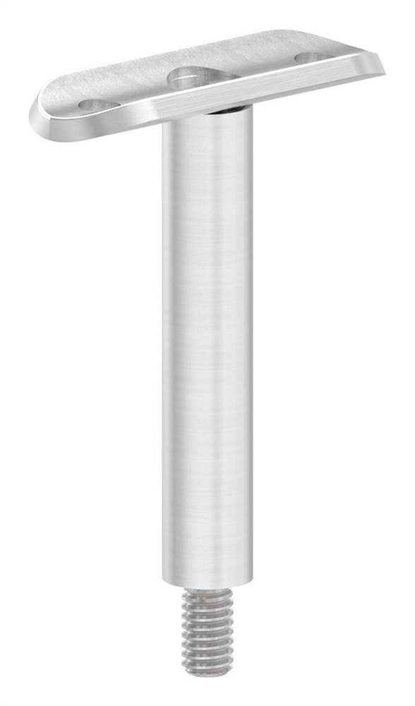 Stift mit Halteplatte | Anschluss: Ø 33,7 mm | V2A