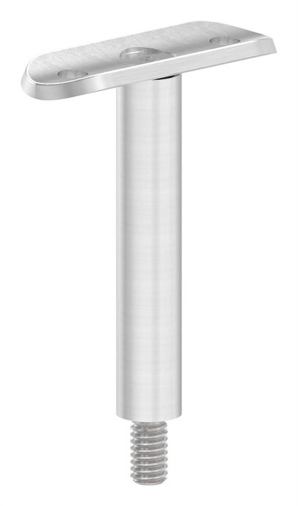 Stift mit Halteplatte | Anschluss: Ø 42,4 mm | V2A