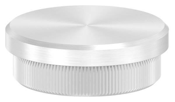 Stopfen flach V2A Vollmaterial für Ø 38,0x2,0 mm