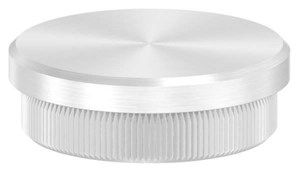 Stopfen flach V2A Vollmaterial für Ø 40,0x2,0 mm