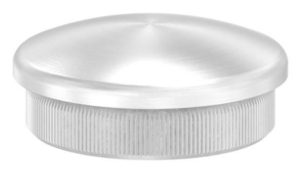 Stopfen leicht gewölbt für Ø 38,0x2,0 mm V2A Vollmaterial