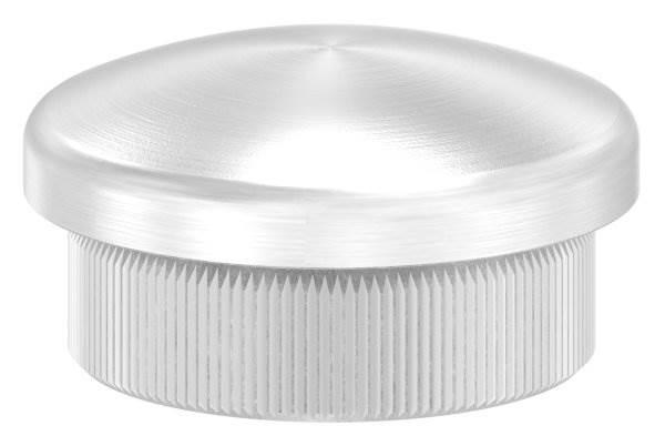 Stopfen leicht gewölbt V2A Vollmaterial für Ø 25,0x2,0 mm