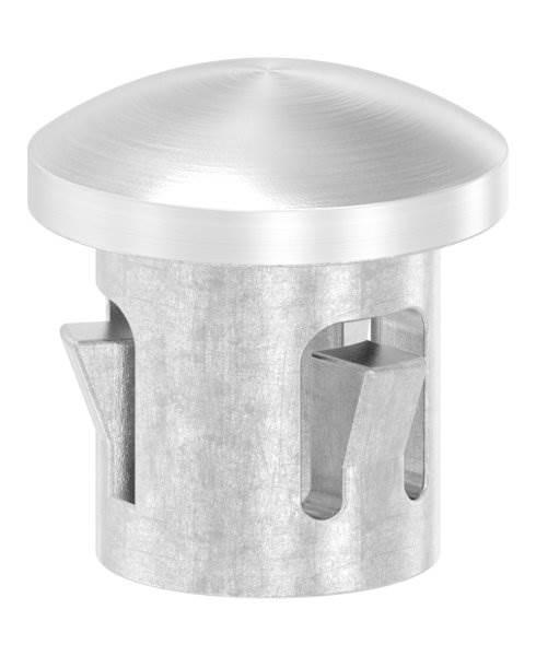 Stopfen leicht gewölbt V4A gegossen für Ø 12,0x1,0 mm